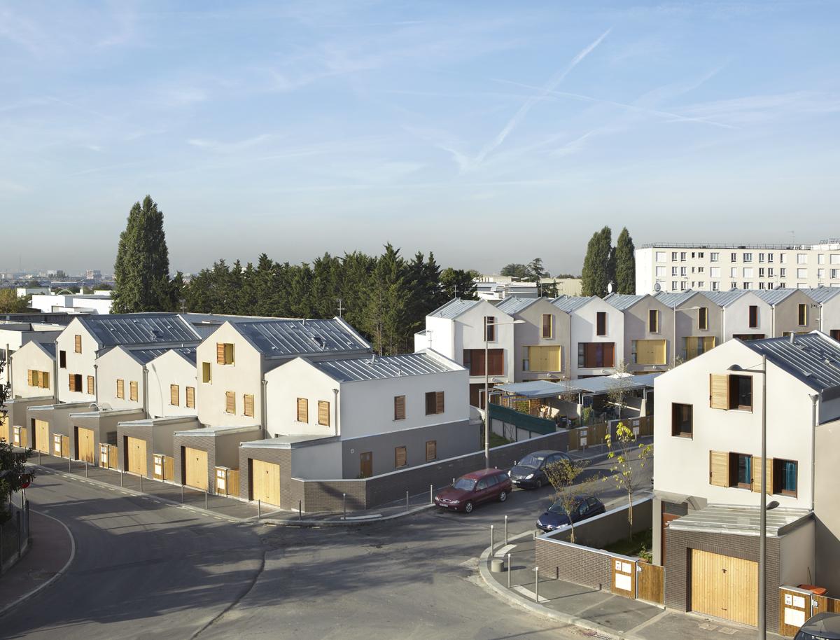 25 maisons en accession sociale garges l s gonesses 95 for Maison accession sociale
